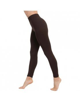 LEGGINGS PUSH UP COSMeTICO TEXTIL COLOR MARRoN VIBRASHOP