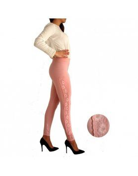 LEGGINGS BLONDA CERDENA ROSA VIBRASHOP