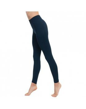 LEGGING PUSHUP COSMeTICO TEXTIL EMANA 140 DEN COLOR MARINO VIBRASHOP