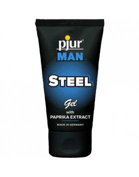 PJUR MAN STEEL GEL 50ML TUBE VIBRASHOP