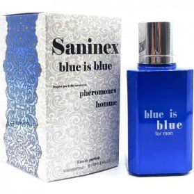 SANINEX PERFUME PHeROMONES BLUE IS BLUE MEN VIBRASHOP