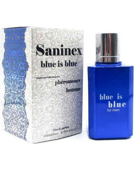 SANINEX PERFUME PHeROMONES BLUE IS BLUE MEN VIBRASHOP