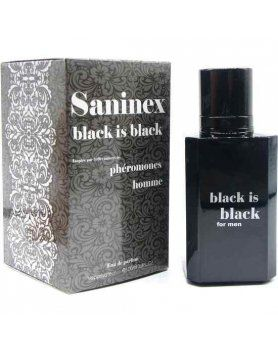 SANINEX PERFUME PHeROMONES BLACK IS BLACK MEN VIBRASHOP