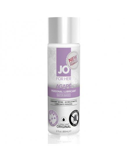 JO FOR WOMEN LUBRICANTE AGAPE 60 ML VIBRASHOP