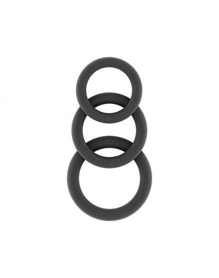 ANILLOS PARA EL PENE SONO – NO.24 - COCKRING SET - GREY VIBRASHOP