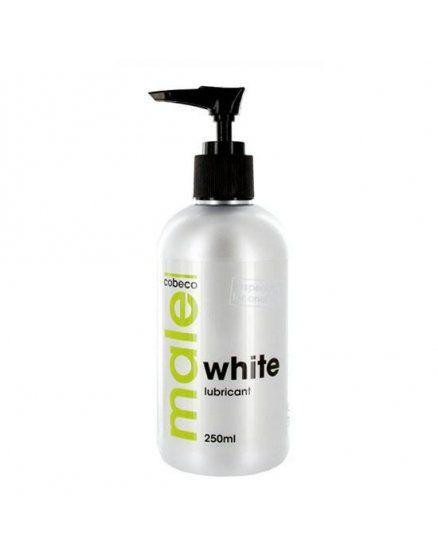 male lubricante blanco 250 ml VIBRASHOP