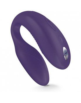 VIBRADOR CON MANDO Y APP WE-VIBE SYNC COLOR LILA VIBRASHOP