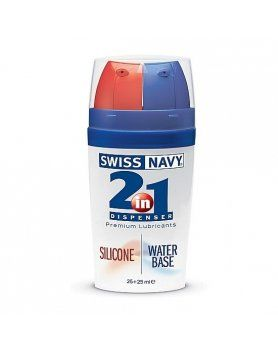 LUBRICANTES SWISS NAVY - 2-IN-1 SILICONE/WATER BASED VIBRASHOP