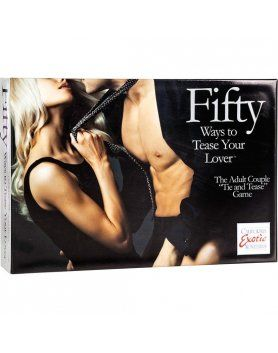 FIFTY WAYS TO TEASE YOUR LOVE - KIT JUGUETES PARA PAREJAS