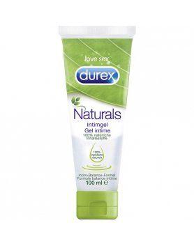 LUBRICANTE iNTIMO DUREX NATURALS PACK 12UDS x 100 ml
