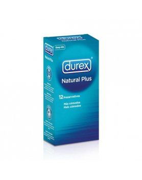 PRESERVATIVOS NATURAL PLUS DUREX VIBRASHOP