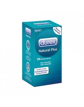 PRESERVATIVOS NATURAL PLUS DUREX