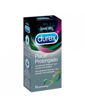 PRESERVATIVOS PLACER PROLONGADO DUREX