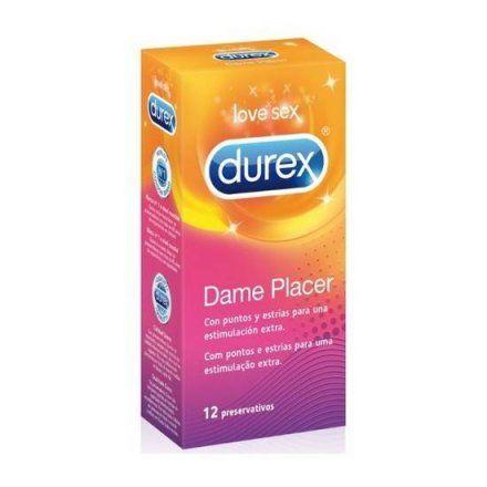 DUREX DAME PLACER 12 UDS para un trío sexual