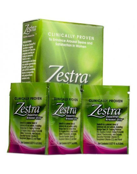 ZESTRA PACK DE 3 SOBRES DE 08ML VIBRASHOP