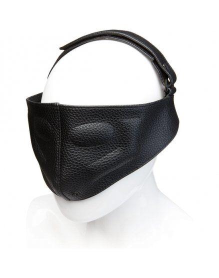 Mascara cuero sado Kink negro VIBRASHOP