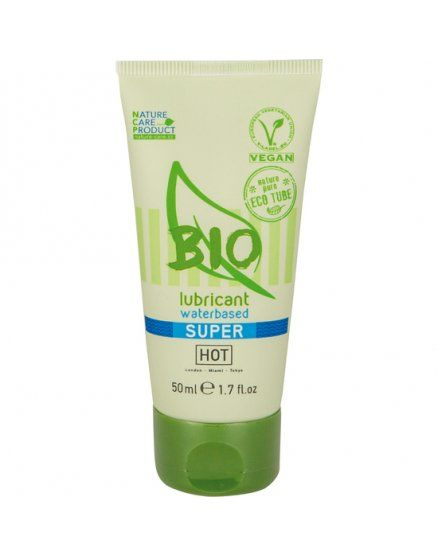HOT BIO SÚPER LUBRICANTE CON BASE DE AGUA 50 ML VIBRASHOP