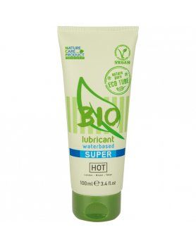 HOT BIO SÚPER LUBRICANTE CON BASE DE AGUA 100 ML VIBRASHOP