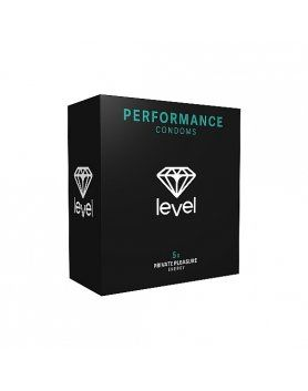 PRESERVATIVOS LEVEL PERFORMANCE CONDOMS 5UDS VIBRASHOP