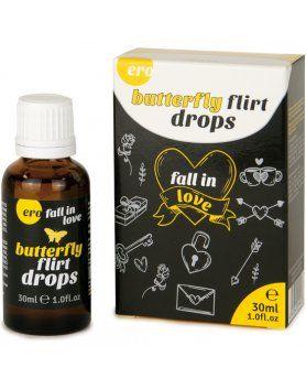 BUTTERFLY FLIRT DROPS 30ML GOTAS ESTIMULANTES DEL AMOR VIBRASHOP