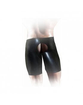 SHORT FISTING UNITEX DE LaTEX NEGRO VIBRASHOP