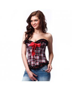 INTIMAX CORSET ESTILO ESCOCES VIBRASHOP