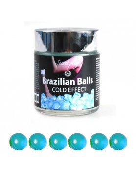 TARRO 6 BRAZILIAN BALLS EFECTO FRiO VIBRASHOP