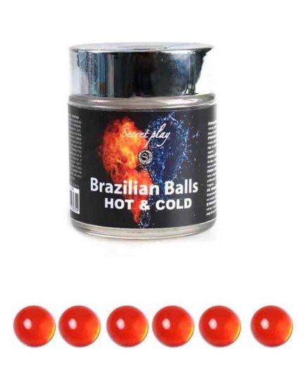 TARRO 6 BRAZILIAN BALLS FRiO CALOR VIBRASHOP