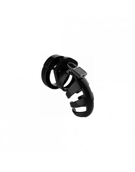 Funda para pene castidad mancage model 02 chastity- 9cm negro  Vibrashop