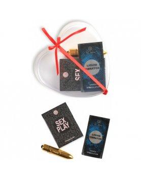 Kit para parejas secret moments kit play love negro Vibrashop