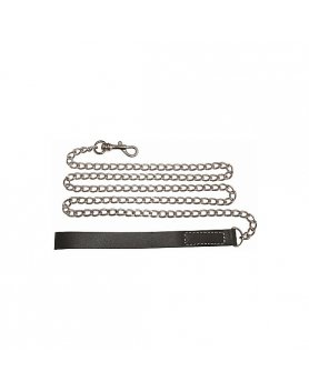 Collar bondage edge chain leash Vibrashop