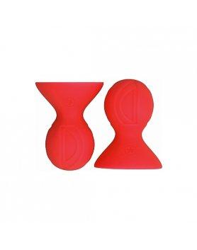 Succionador pezones ouch nipple suckers rojo Vibrashop
