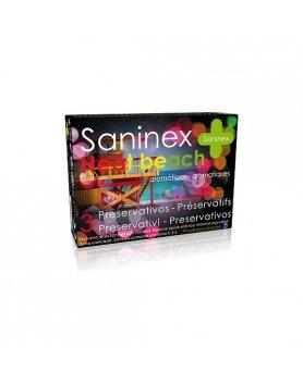 SANINEX PRESERVATIVOS HEAT BEACH 3UDS VIBRASHOP