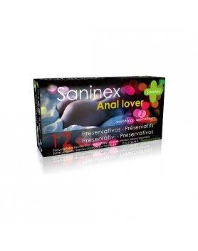 SANINEX PRESERVATIVOS ANAL LOVER 12UDS VIBRASHOP