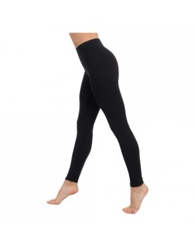 LEGGINS PUSH UP COSMÉTICO-TEXTIL EMANA 140 DEN COLOR NEGRO VIBRASHOP