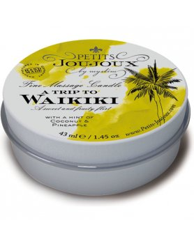 KIT 5 PIEZAS CANDLE WAIKIKI REFILL - TROPICAL VIBRASHOP