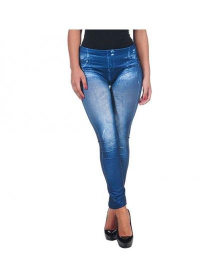 Legging low cost vaquero azul Vibrashop