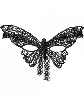 Máscara caramel nuit mariposa negro Vibrashop