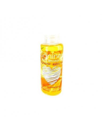 Aceite masajes saninex orgasmic extra long 1oo ml Vibrashop
