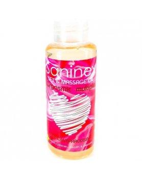 Aceite masajes saninex orgasmic multiple 1oo ml Vibrashop