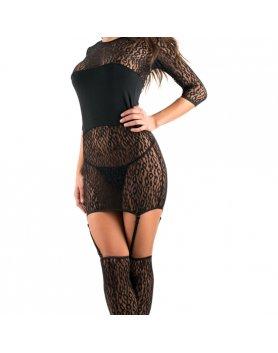 Vestido intimax dhaka negro Vibrashop