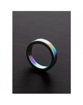ANILLO PLANO ARCOIRIS (8X45MM) VIBRASHOP