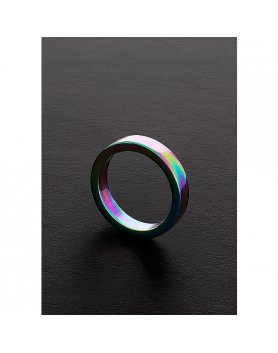 ANILLO PLANO ARCOIRIS (8X40MM) VIBRASHOP