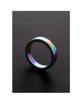 ANILLO PLANO ARCOIRIS (8X50MM) VIBRASHOP