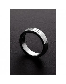 Anillo Para Pene Shots Ribbed 10x55 Mm Vibrashop