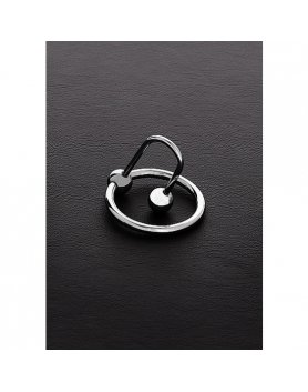 FULL STOP C-PLUG WITH STEEL RING (25MM) VIBRASHOP