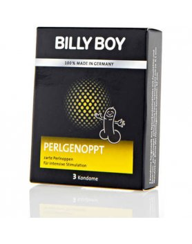 PRESERVATIVOS BILLY BOY PERLGENOPPT 3UDS VIBRASHOP