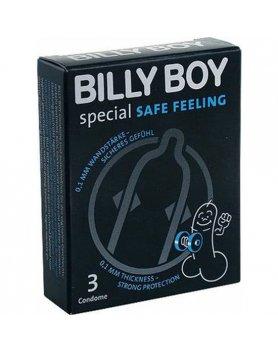 PRESERVATIVOS BILLY BOY SPECIAL SAFE FEELING 3UDS VIBRASHOP