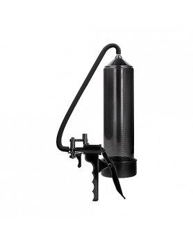 Bomba De Succión De Pene Shots Elite Beginner Pump Black Vibrashop