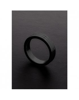 Anillo para pene shots golden black 10x50 mm Vibrashop